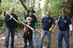 Rotary trail cleanup_1