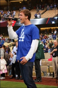 Danny Wirick - Dodger Game -5-6-13