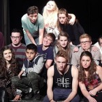 "Teenagers acting out-Young actors confront adult emotions in ""Rent"""