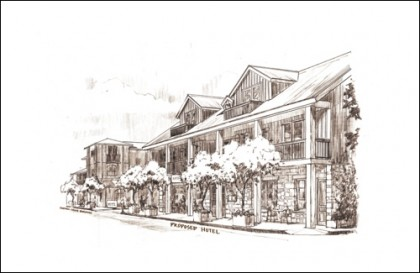 Hotel Project Sonoma Restaurant with Description
