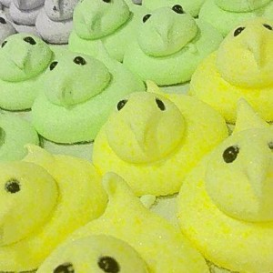 House-made Peeps at Crisp Bakeshop
