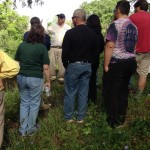 Friends of Maxwell Park gather for tour