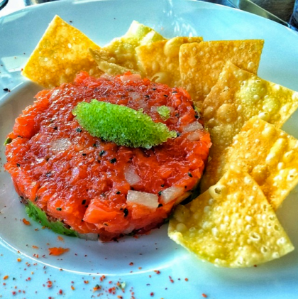 El Dorado Kitchen's salmon tartare (El Dorado Kitchen)