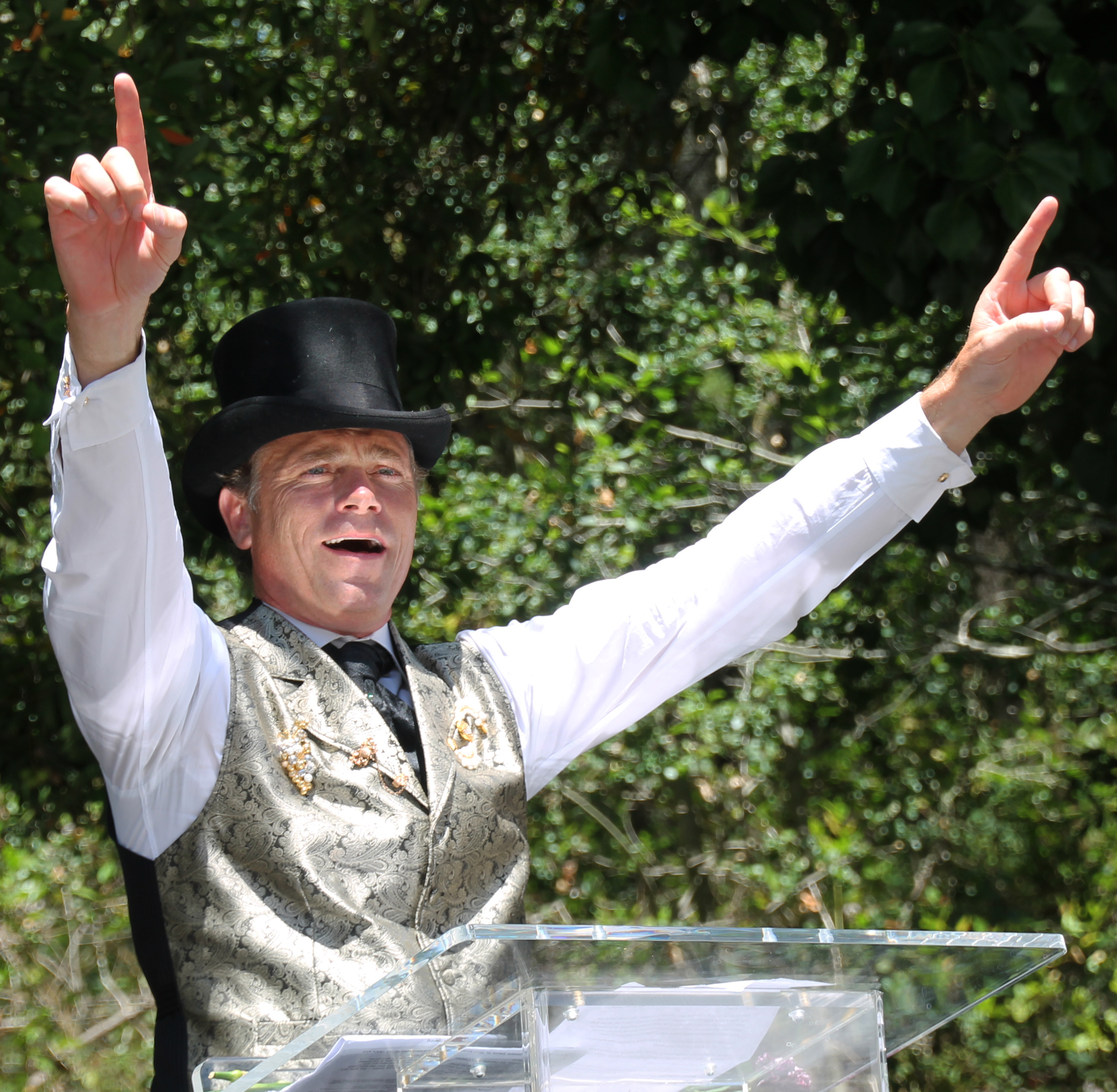 photo essay vallejo pals return to buena vista sonoma sun jean charles boisset played the role of a french businessman a focus on on wine not too far from the truth right he gave three big cheers for the