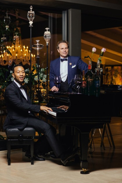 Musician John Legend has paired with Jean-Charles Boisset to create LVE wines (Photo: Raymond Vineyards)