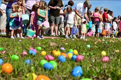 Last year's Easter egg hunt was a big success at Larson Family Winery (Photo: Larson Family Winery's Facebook)