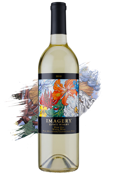 Imagery's 2015 Wow Oui wine