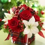 Free class on holiday flower arrangements