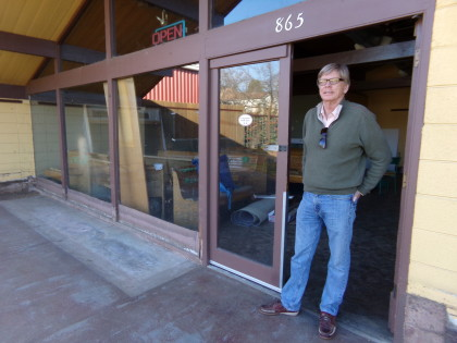 Though plans for a cannabis dispensary in the back of the building are on hold, Jon Early proceeds with the remodel of 865-875 West Napa Street, the former sites of the Wine Annex and the Community Café. All city approvals are in hand, he says, and discussion with new restaurant tenants are underway for reopening as soon as this summer.