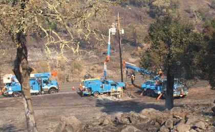 PG&E plans to turn off power to 600000 addresses to prevent wildfires