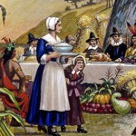 What, no pretzel salad? The very first Thanksgiving menu